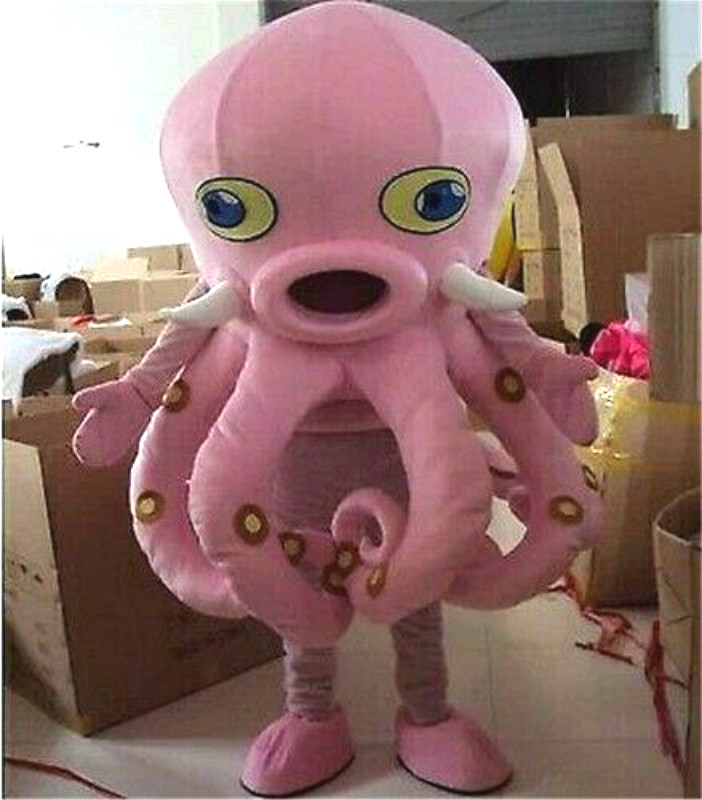 Halloween Fancy Dress Octopus Mascot Costume Cosplay Party Game Dress Outfit Adult New Outdoor Suit