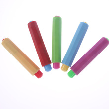 5pcs/pack New Dustless Chalk Holder Pen Chalk Clip Teacher Blackboard Sticker Chalkboard As Gift Office Supplies