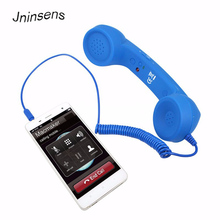 High Quality Classic retro 3.5 mm Comfort telephone Handset Mini Mic Speaker Phone Call Receiver For Iphone Samsung Huawei