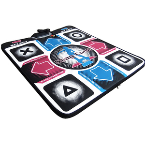 Image 2 - Video Arcade baile tapetes para videojuegos antideslizante paso de baile pastillas para PC USB tapete para baile