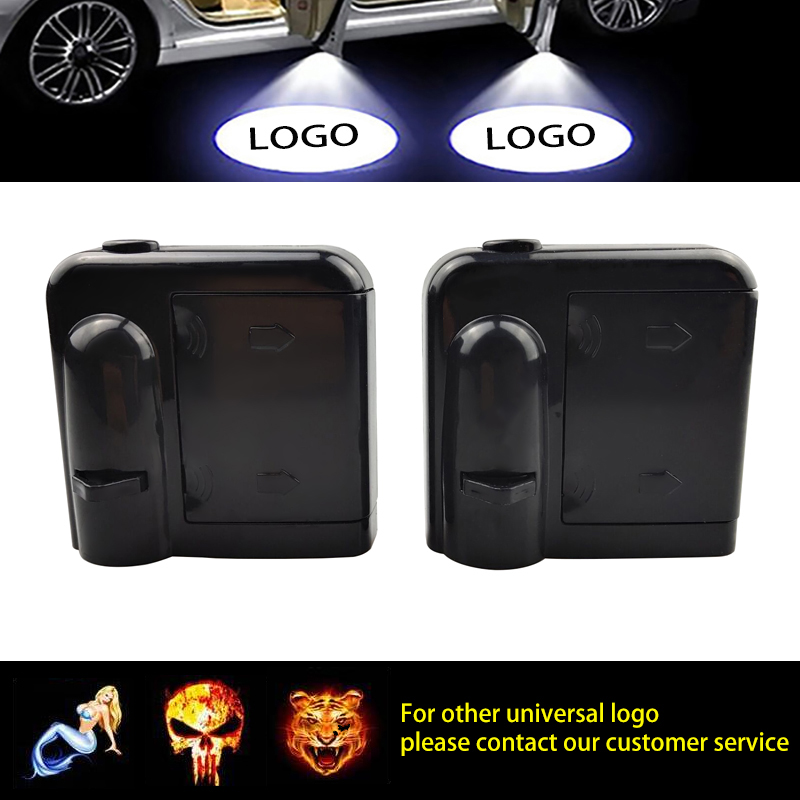 1pcs Car Door Welcome Light Laser Projector Logo Ghost Shadow LED Light for Toyota Audi Kia Nissan Ford Mazda Ford VW Chevrolet Renault