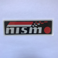 цена на 1 Pcs Car Styling Nismo Emblem PVC Sticker For Nissan Nismo Tiida Teana Skyline Juke X-Trail Almera Qashqai Sticker Accessories