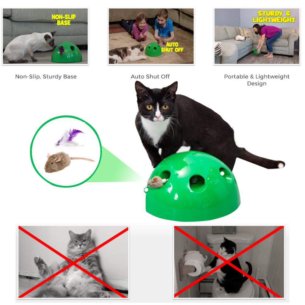 POP N PLAY Cat Toy Funny Cat Toy Cat Scratching Device Cat Scratching Post Toy Material For Cat Sharpen Claw Pop Play Cat Toy in Dog Toys from Home Garden