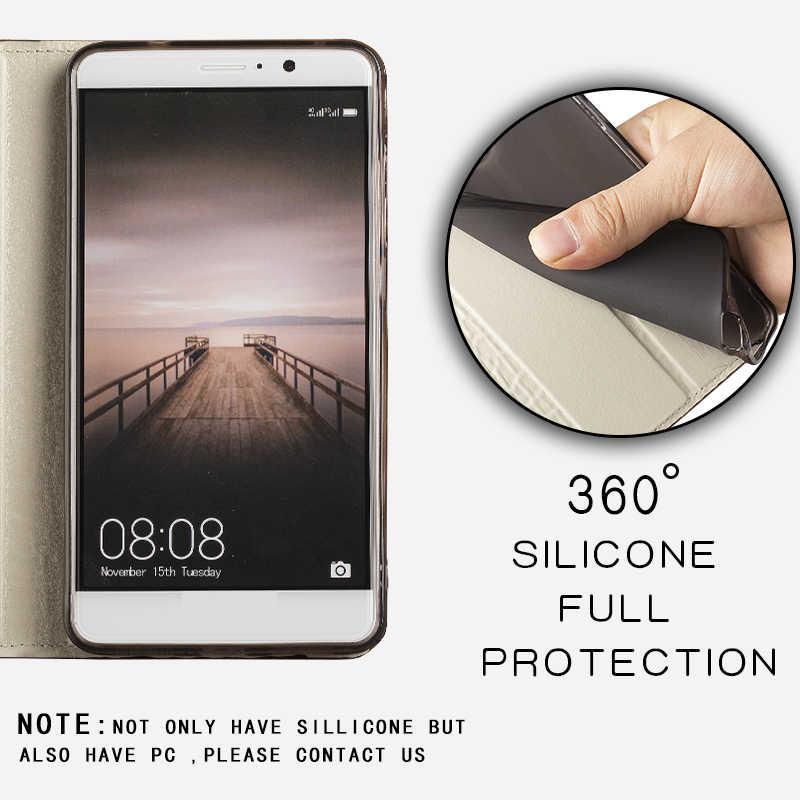 LANGSIDIโทรศัพท์มือถือFlip BookสำหรับiPhone X XR XS 11 Pro MaxมือถือHand-Madeสำหรับiphone 8 7Plus 6S Seแม่เหล็ก