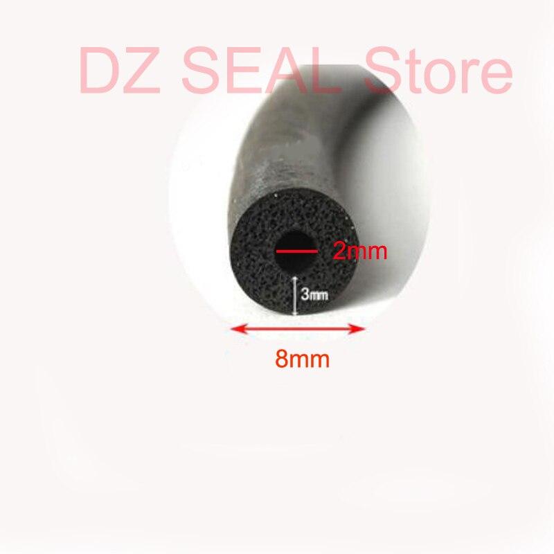 EPDM Rubber Foam Hose Rubber Pipe Foam Sealing Strip Car Door filler Strip