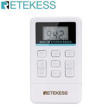 Radio-Receiver Fm-Radio Retekess Portable Pocket Interpretation Simultaneous TR612