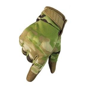 Image 2 - 2021 yeni motosiklet eldivenleri yaz nefes taktik tam parmak eldiven dokunmatik ekran
