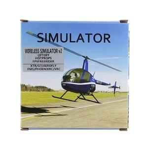 Image 4 - Wireless RC Simulatore di RC di Simulazione di Volo V2 Realflight XTR/FMS/G7/Phoenix/Freerider FPV Quadcopter di Formazione RC Simulatore