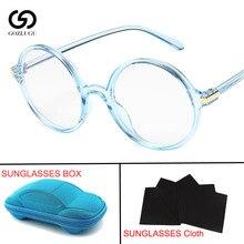 Round Glasses Transparent Frame Fashion Men Gaming Glasses  Women  Optical Eyeglasses Frames with box цена и фото