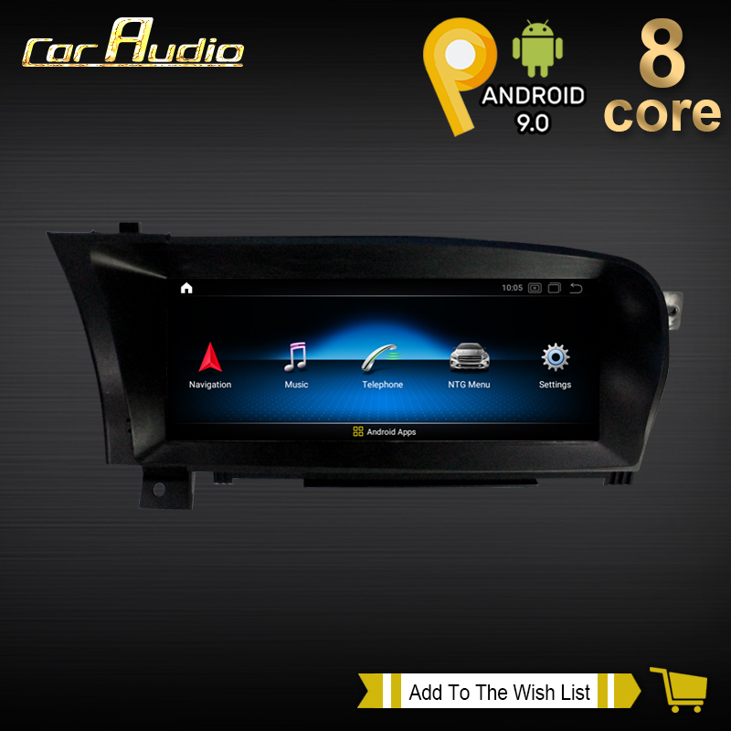 10.25 Android 10 8 Core 4G 64GB Car Radio GPS Navigation System for Mercedes Benz S Class W221 W216 Car Dvd Multimedia Player image