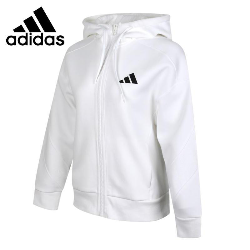 Original New Arrival Adidas HOODIE JKT CLR Women's jacket Hooded Sportswear