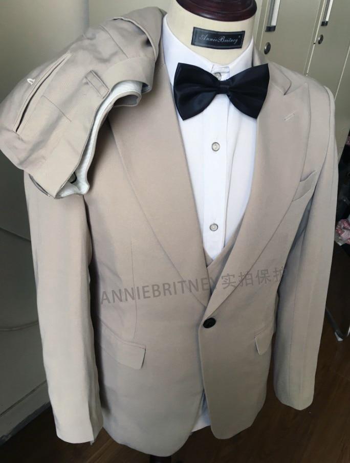 2020 Designers Fashion Men Suit Slim Fit Prom Wedding Suits for Men Groom Tuxedo Jacket Pants Set White Gray Casual Man Blazer 2