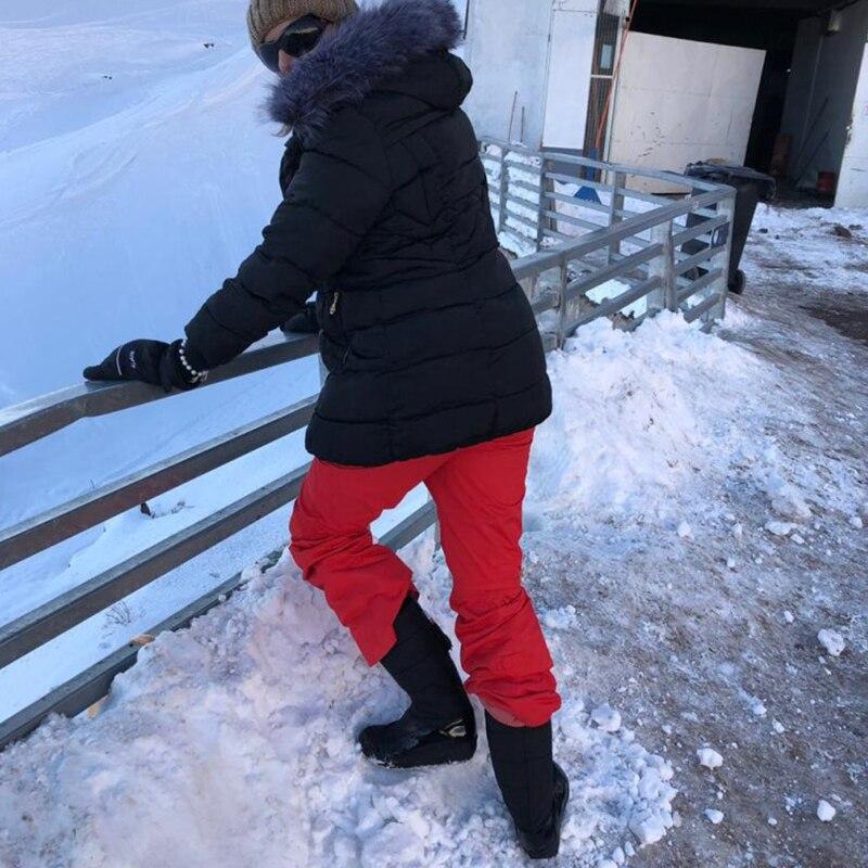 Women Snow Boots Winter Warm Platform Fur Fringe Shoes 16