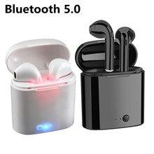 Écouteurs sans fil Bluetooth i7s Tws, oreillettes de sport, mains libres, intra-auriculaires, pour iPhone, huawei, Xiaomi, goophone