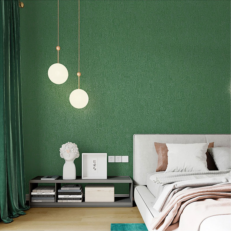 Modern American Plain Solid Color Dark Green Wall Paper Nordic Style Living Room Bedroom Clothing Store Wallpaper For Walls Wallpapers Aliexpress,Pantone Colors To Paint Colors