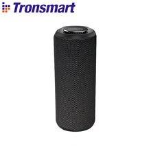 Tronsmart T6 Plus Bluetooth Lautsprecher 40W Tragbare Lautsprecher Colums Tiefe Bass Soundbar mit IPX6 Wasserdicht, TWS, siri, SoundPulse