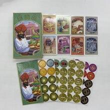 Горячая Джайпур карты игра игрушка английский испанский правила 2 игрока игры для вечерние Семейные настольные игры игральные карты