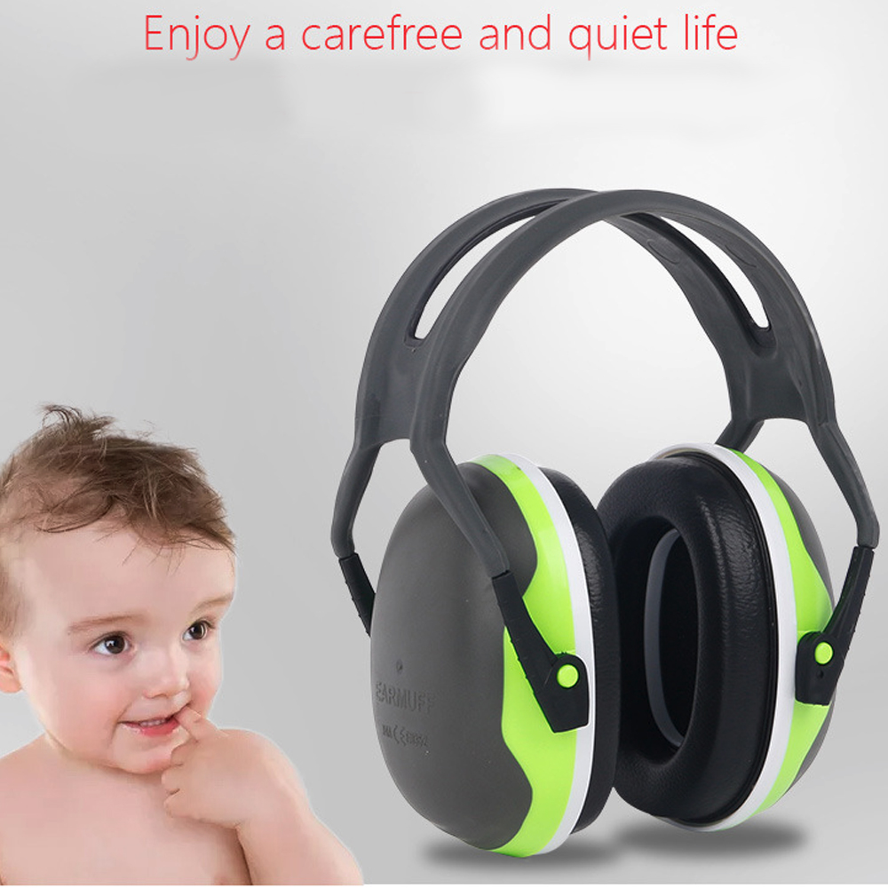 NRR 21dB Adjustable Headband Comfortable Overhead Soundproof Earmuffs Noise Reduction Earmuffs For Construction Manufacturing