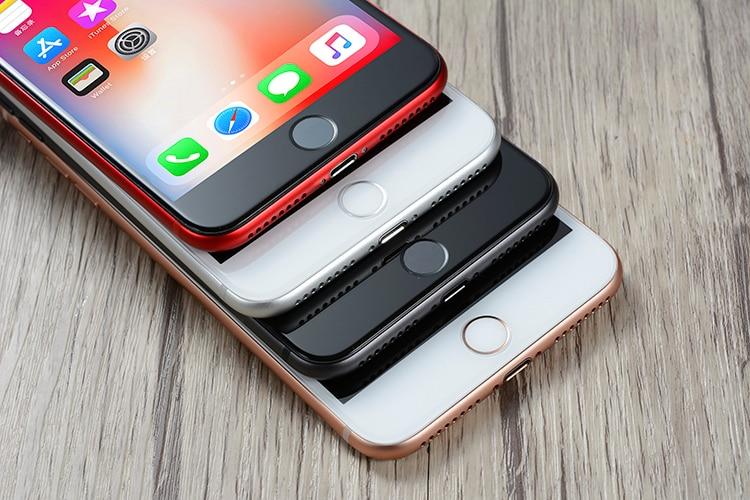 Original apple iphone 8 plus hexa núcleo ios 3gb ram 64-256gb rom 5.5 polegada 12mp impressão digital 2691mah lte telefone móvel 5