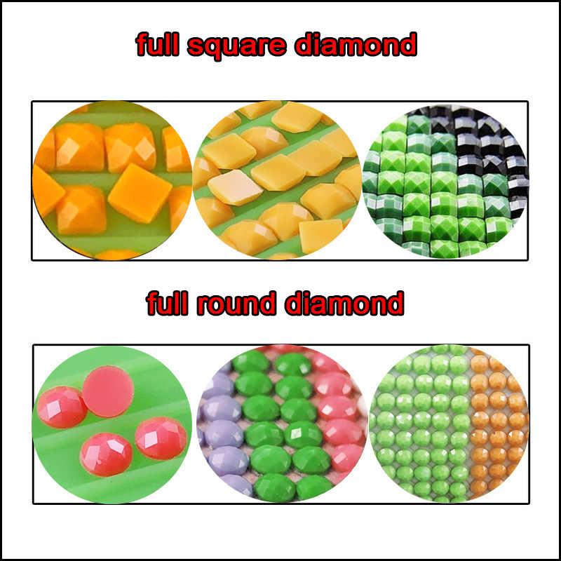 0.01 Usd Voor Gemiste Kleur 5d Diy Diamant Schilderen Kruissteek 5D Diamant Mozaïek Diamant Borduurwerk Schilderijen Door NumbersZP-3638