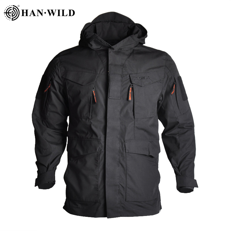 Tactical-Jackets Hoodie Windbreaker Sports-Coat Wild-M65 Hiking Outdoor Waterproof HAN title=