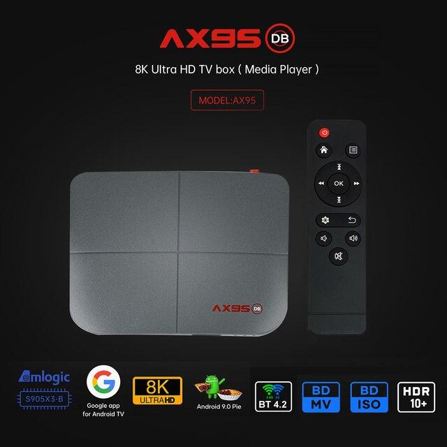 ТВ-приставка VONTAR AX95, 4 ГБ + 128 ГБ