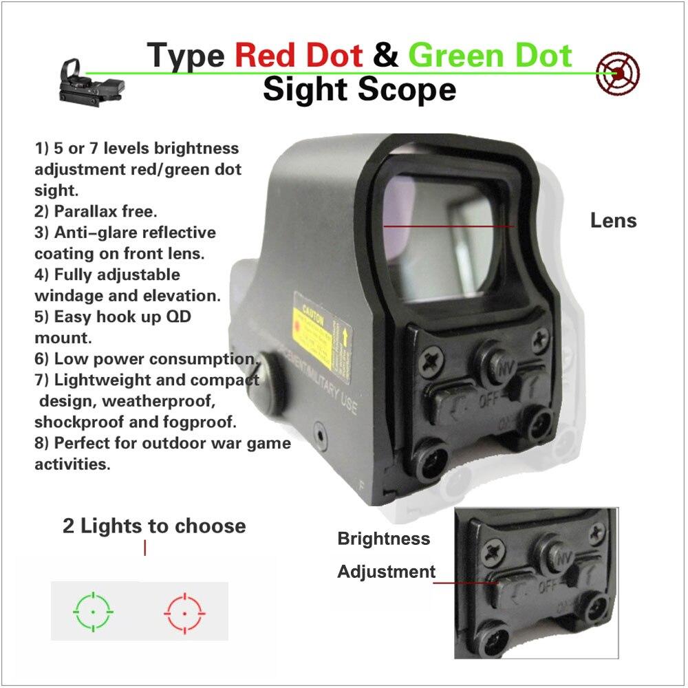 Tactical mate negro Spike 1X22mm 551 reflejo holográfico rojo verde punto vista al aire libre caza Visor brillo ajustable. 2 unids/lote 5D hilo punteado acanalado G preservativos condones de látex partícula grande condón con pinchos para hombres productos sexuales masculinos