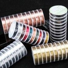 LingXiang 0,2/0,25/0,3/0,4/0,5/0,6/0,8/1,0 мм цветной медный провод аксессуары для изготовления украшений своими руками