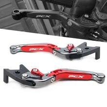 Palanca de embrague de freno extensible para motocicleta HONDA PCX 125 PCX125 ABS, accesorios CNC ajustables y plegables