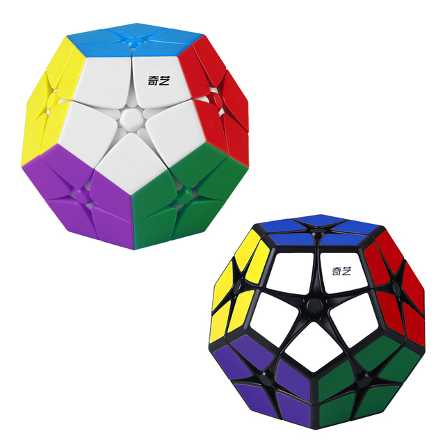 Qiyi 2×2 Megaminxeds Magic Speed Cube 12 Side Dodecahedron Puzzle Cubes Stickerless 2x2x2 Megaminxeds Toys For Chiliren