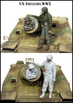 [tusk model]1/35 Scale Unassembled Resin figures resin model Kits E188 1