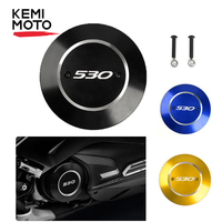 KEMiMOTO For TMAX 530 2017 2019 Right Engine Protector Cover Engine Stator Guard For YAMAHA TMAX 530 SX DX 2017 2019