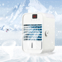 Battery Office Air-Conditioner-Fan Water-Cooling-Spray Mini-Usb Fan/home Rechargeable