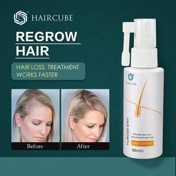 HAIRCUBE Hair Growth Essence Spray Loss Treatement Growth Hair Anti Hair Loss Prevention Alopecia Damaged Liquid Hair Repair 1