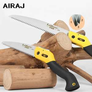 AIRAJ 7/10/11 Inch Folding Saw Garden Handmade Wood Cutting Tool Home Woodworking Cutting Branch Trimming Handsaw