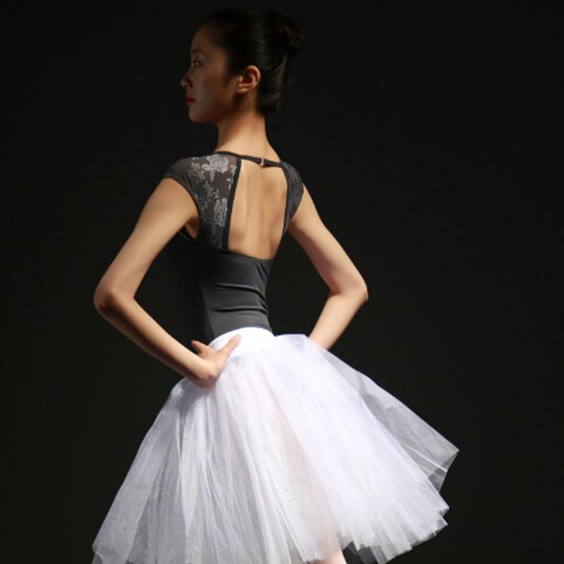 Cinza escuro/Azul/Vermelho vinho Adulto Leotards Ballet Bailarina Rendas Bodysuit Meninas Traje de Dança Ballet Mulheres Leotards Ballet roupas