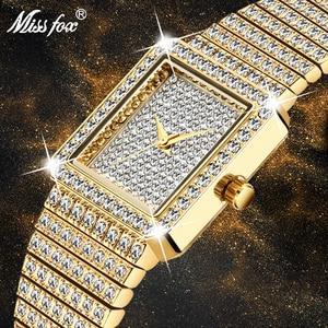MISSFOX Diamond Watch For Wome