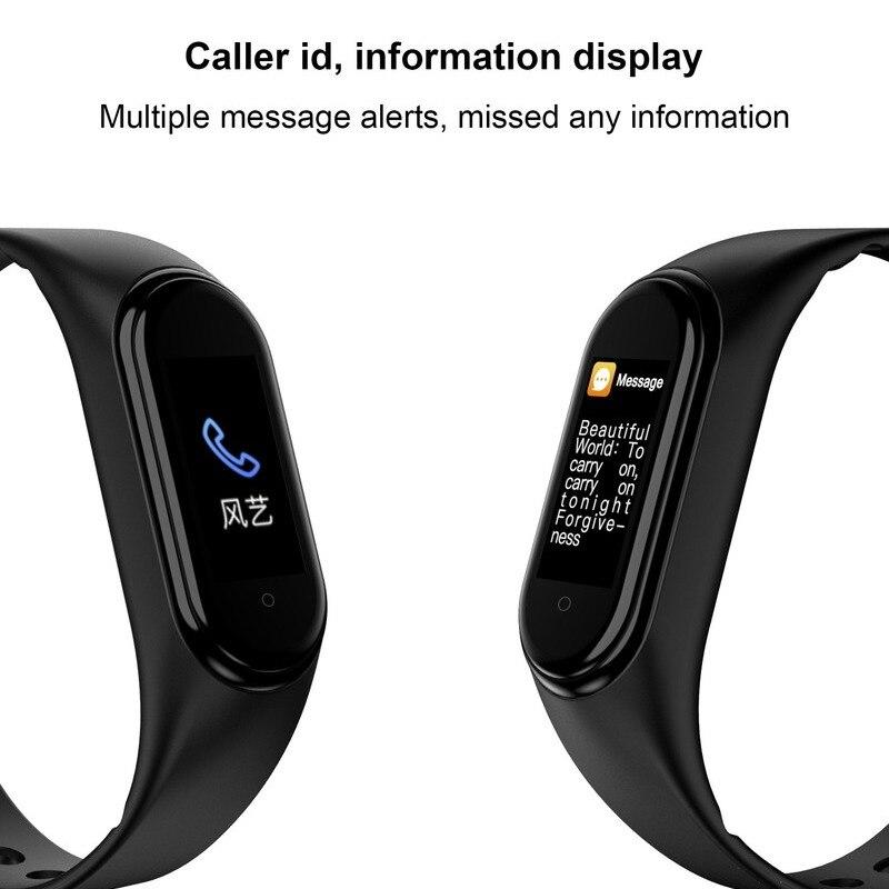 Wholesale M5 Smart Watch Bluetooth Smart Bracelet Fitness Tracker Smartwatch for Android/IOS 10Pcs/20Pcs