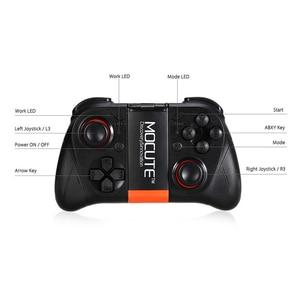 Image 4 - MOCUTE لوحة ألعاب VR 050 ، وحدة تحكم بلوتوث ، عصا تحكم لصور السيلفي ، جهاز تحكم عن بعد للكمبيوتر الشخصي والهاتف الذكي وحامل الهاتف