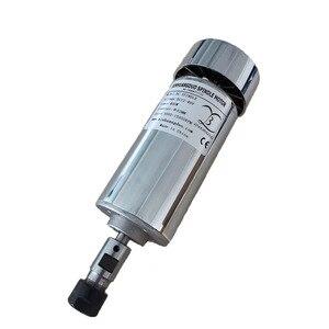 Image 4 - 200 w/300 w/400 w/500 w 스핀들 조각 기계 스핀들 모터 공기 냉각 cnc 스핀들 dc 모터 cnc 조각 기계 er11 3.175mm