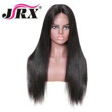 Бразильские прямые человеческие волосы на кружеве парик предварительно сорвал с волосами младенца отбеленные узлы 150% плотность remy волосы 360 парик на кружеве