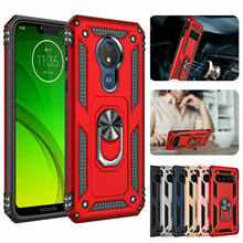 Shockproof Armor Case For Motorola Moto G6 G7 E6 Plus P40 Power E5 Play One zoom Pro action Z4 Protective Magnetic Phone Cover(China)
