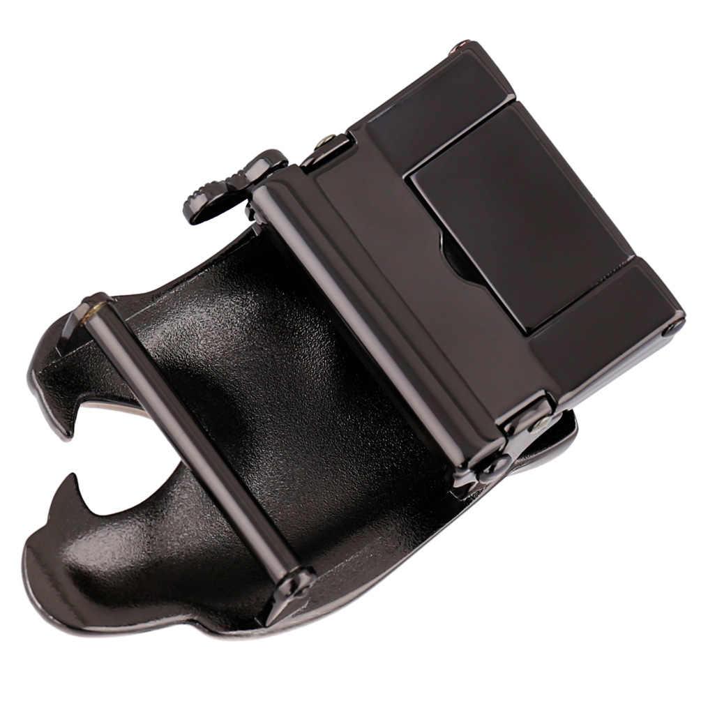 أزياء الرجال الأعمال سبيكة التلقائي مشبك فريد الرجال البلاك حزام أبازيم ل 3.5 سنتيمتر اسئلة الرجال اكسسوارات ملابس LY136-21