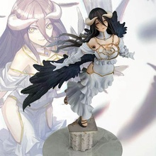 Overlord King Albedo Sexy Girl Anime Cartoon Action Figure PVC Toys Collection Figures For Friends Gifts 29cm