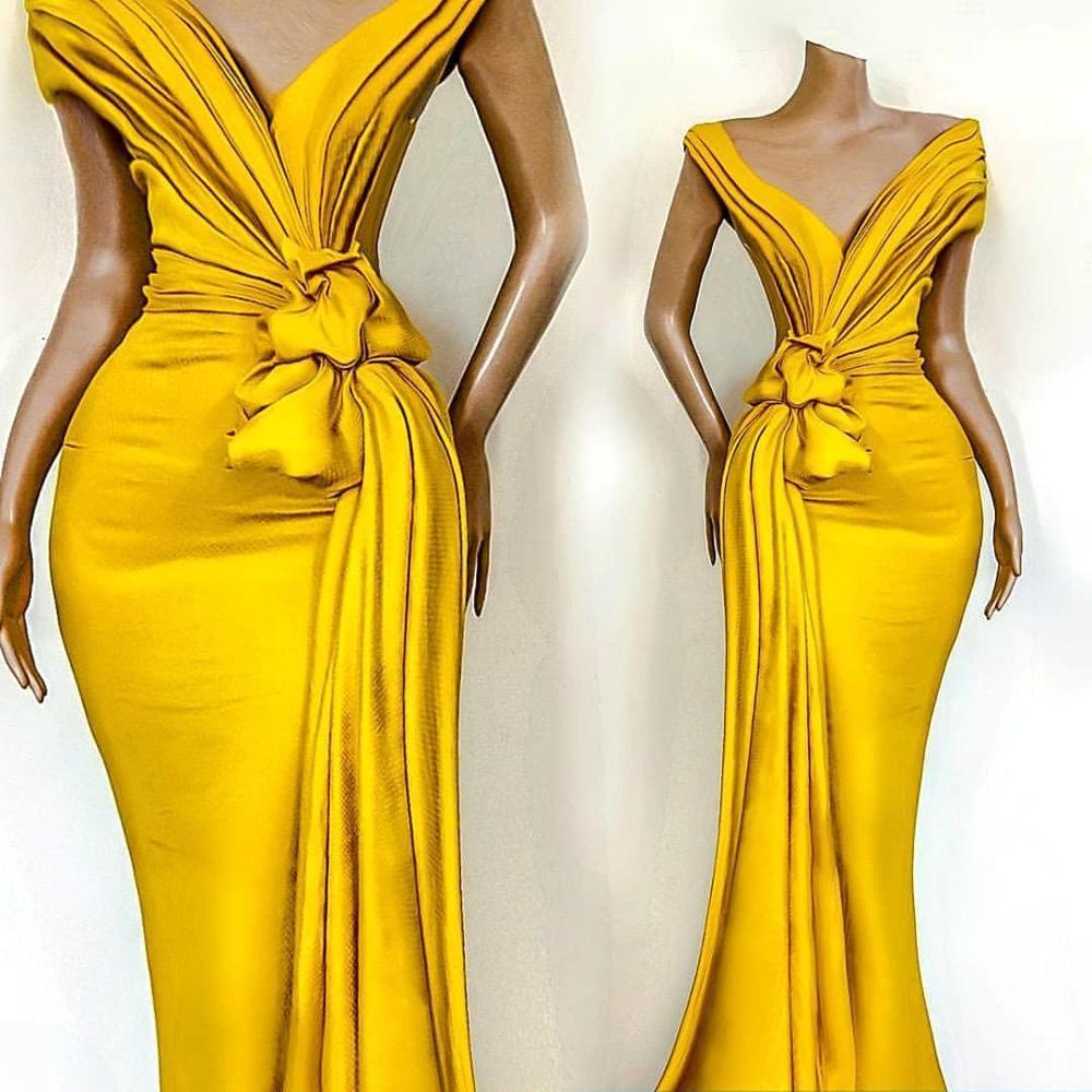 Купить черные желтые платья на выпускной в африканском стиле для девочек