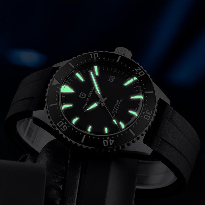 Купить часы pagani design мужские механические брендовые водонепроницаемые