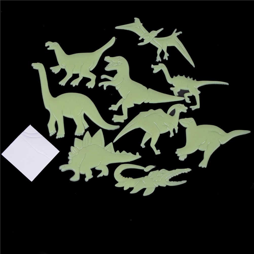 يتوهج في الظلام الديناصورات/الفراشة/القمر/الكون/الدلفين/الموسيقية ملاحظات اللعب ملصقات السقف لواصق غرفة الطفل الطفل
