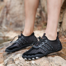Cross-country elastic outdoor wading shoes breathable quick-drying beach soles of drainage 46 wild hiking shoes 47 men's shoes петля wild country wild country dyneema 10 мм разноцветный 90