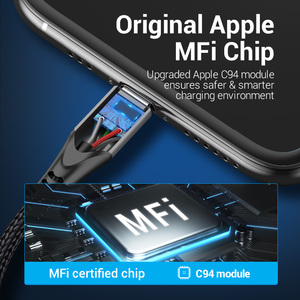 Image 3 - Vention MFi USB Type C Cable for iPhone 12 mini 11 8 Plus PD 18W Fast USB C to Lightning Cable for iPad USB C Charger Data Cable