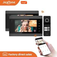 Cam Jeatone Intercom Video-Doorbell Tuya App-Control Home-Security-System Support 7 Multi-Language